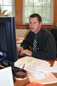 New assistant principal makes good impression