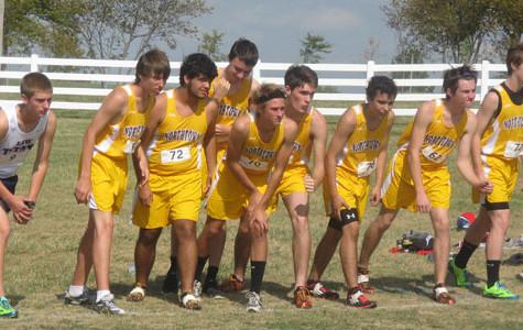 Cross country team runs hard