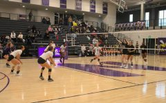 Volleyball playing in the gym  Skyler Dodd - Photographer