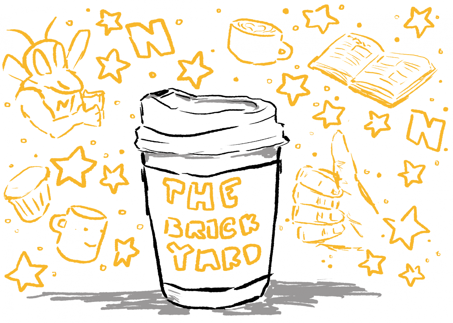 Illustration of a coffee cup